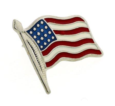 American Flag Tie Tac