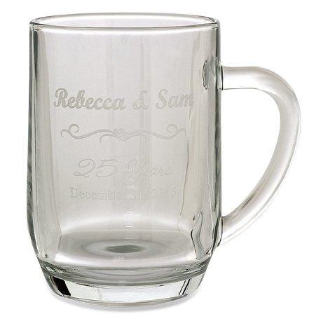 Anniversary Gift  20 Ounce Barrel Mug with Handle
