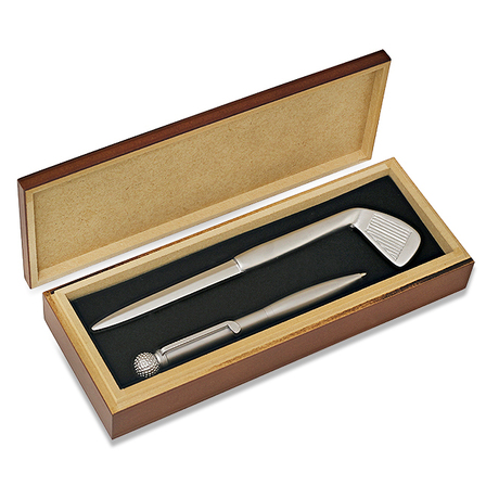 Anniversary Gifts Golfer's Pen & Letter Opener Set