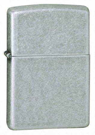 Antique Silver Plate Zippo Lighter - ID# 121FB