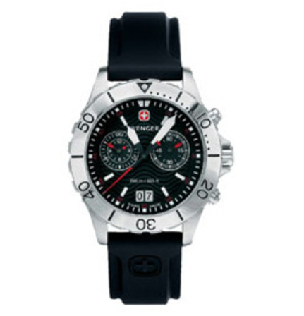 AquaGraph Chrono Wenger Swiss Army Watch - Discontinued