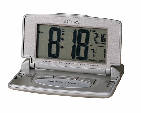 Avant I Travel Alarm Clock by Bulova