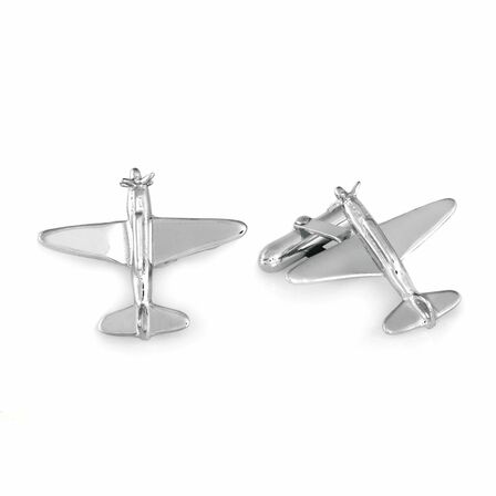 Aviator Collection Sterling Silver Cufflinks
