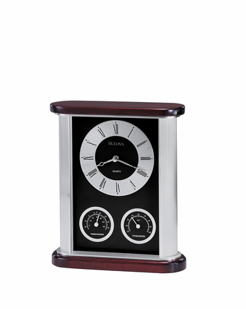 Belvedere Executive Collection  Desk Clock by Bulova