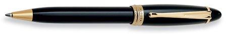 Black & Gold Ballpoint Pen by Aurora