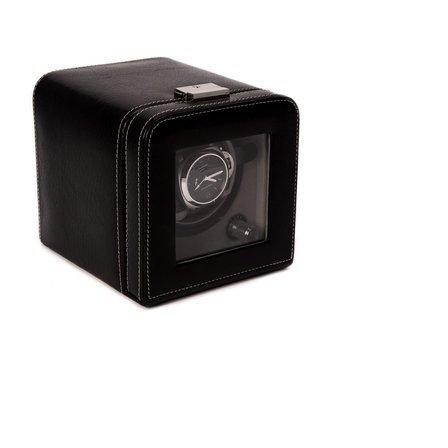 Black Leather Single Watch Winder