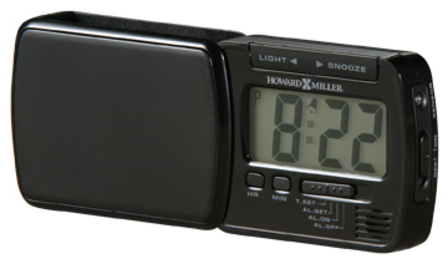 Blackstone Travel Alarm Clock by Howard Miller - Discontinued