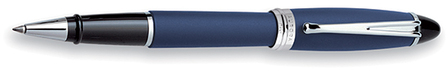 Blue & Silver Rollerball Pen by Aurora