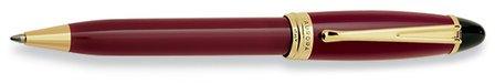 Bordeaux & Gold Ballpoint Pen by Aurora