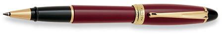 Bordeaux & Gold Rollerball Pen by Aurora