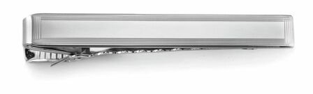 Border Collection Sterling Silver Tie Bar