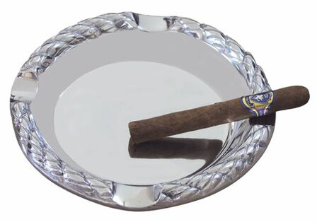 Braided Rope Round Ashtray - Discontinued