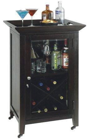 Butler Wine & Bar Cabinet by Howard Miller