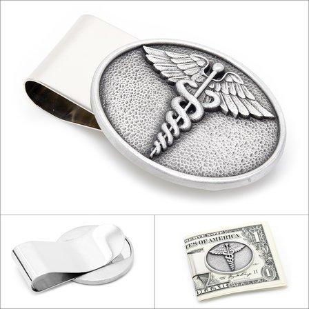 Caduceus Money Clip - Discontinued