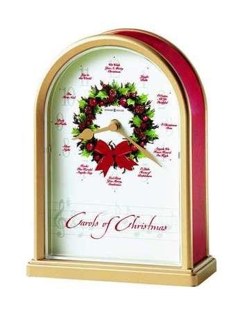 Carols of Christmas II Tabletop Clock by Howard Miller