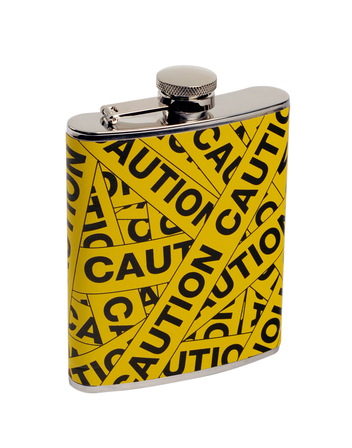 Caution to the Wind Flask
