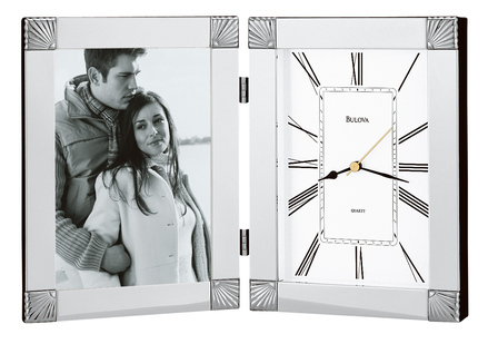 Personalized Picture Frame Collection Clock by Bulova