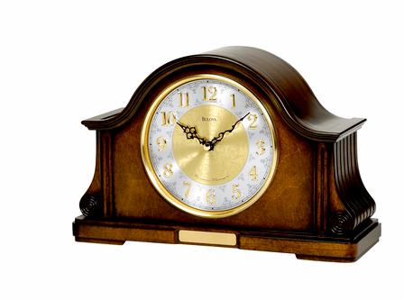 Chadbourne Personalized Chiming Mantel Clock by Bulova