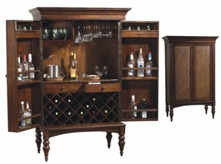 Cherry Hill Wine & Bar Cabinet by Howard Miller