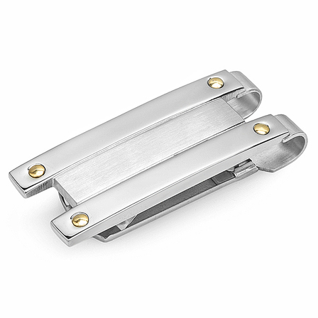 City Collection Engraved Spring Loaded Money Clip