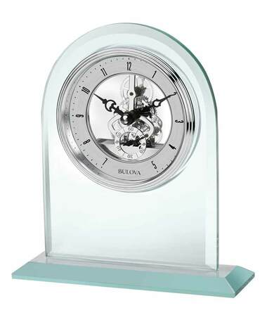 Clarity Desktop Clock By Bulova