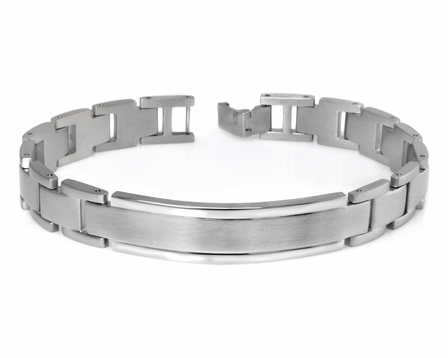 Classic Collection Stainless Steel Men's ID Bracelet