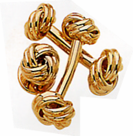 Classic Love Knot Cufflinks
