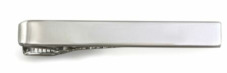 Classic Sterling Silver Engravable Tie Bar
