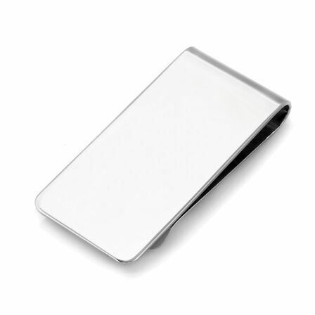 Sterling Silver Wide Width French Fold Money Clip
