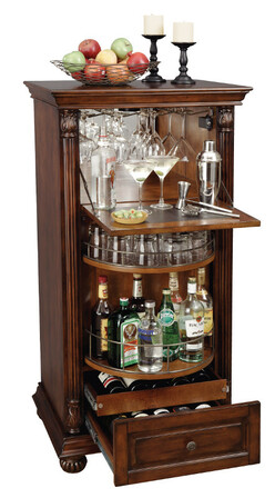Cognac Wine & Bar Cabinet by Howard Miller