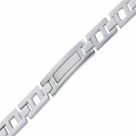 Colibri Blade Collection Stainless Steel Men's Bracelet - Discontinued