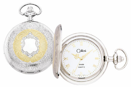 Colibri Swiss Quartz Date Pocket Watch - Discontinued