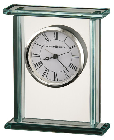Cooper Glass Carriage Alarm Clock by Howard Miller