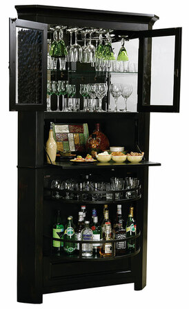 Cornerstone Estates Wine & Bar Cabinet by Howard Miller