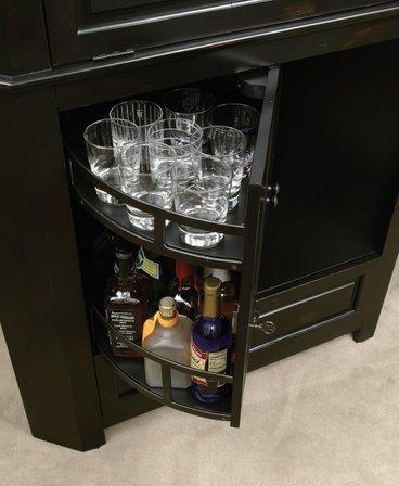 Cornerstone Estates Wine & Bar Cabinet by Howard Miller