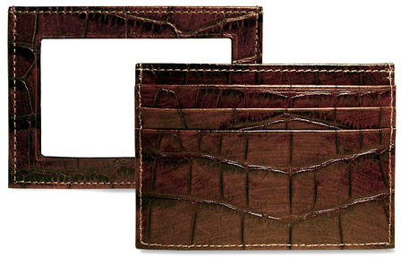 Croco Collection Evening Wallet/Weekender by Jack Georges - Discontined