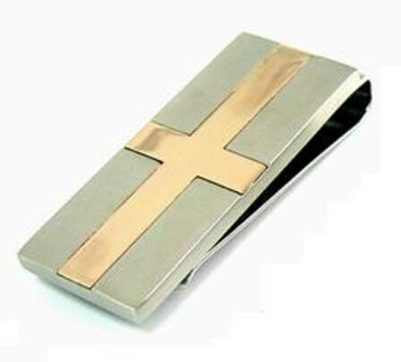 Cross Collection Personalized Money Clip