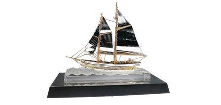 Crystal Sailing Ship