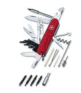 Cybertool 34 Ruby Swiss Army Knife