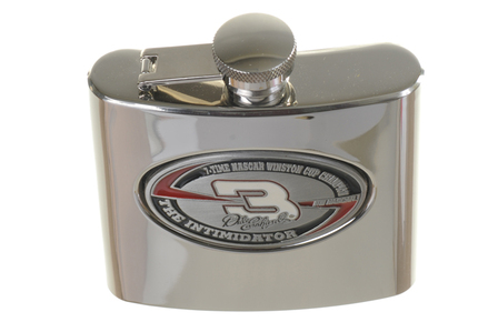 Dale Earnhardt #3 6 Ounce Steel Flask