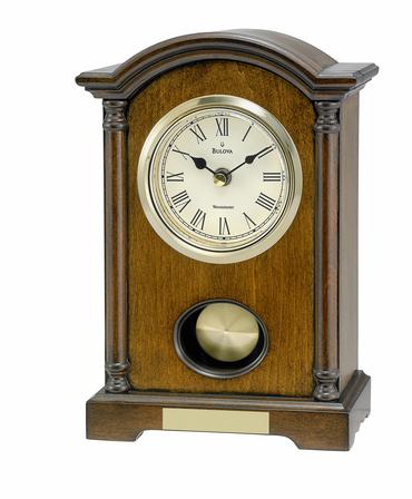 Dalton Personalized Tabletop Clock by Bulova