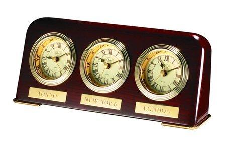 Multi Time Zone Desk Clock