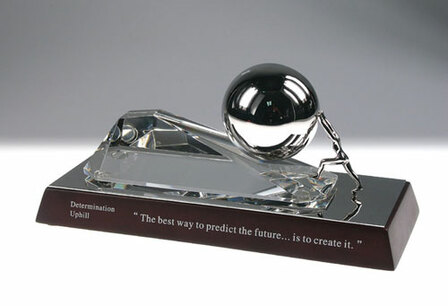 Determination Uphill - Inspirational Desk Sculpture