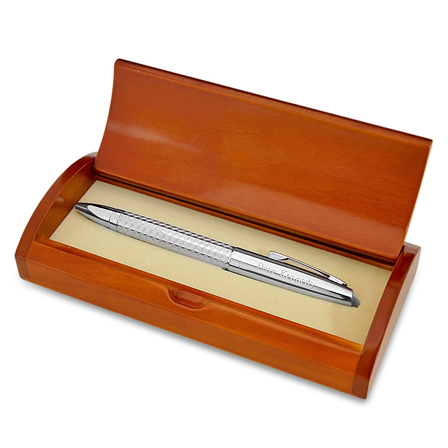Diamond Cut Ballpoint Pen Set With Logo Option