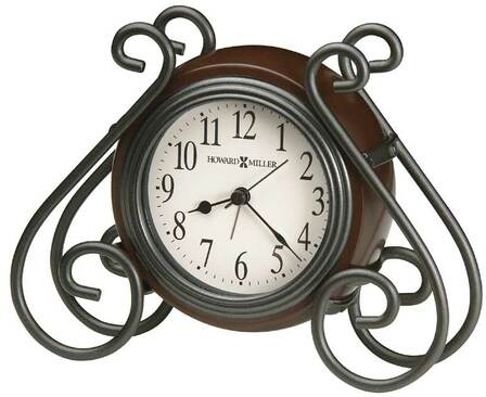 Diane Metal Wire Alarm Clock by Howard Miller