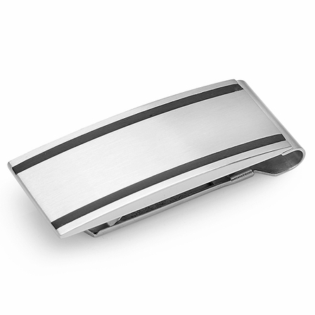 Diego Engraved Spring Loaded Money Clip