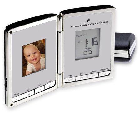 Digi-Companion Global Sync Atomic Clock & Digital Photo Frame