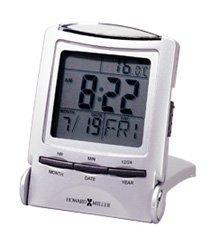Distant Time Traveler Travel Alarm Clock by Howard Miller