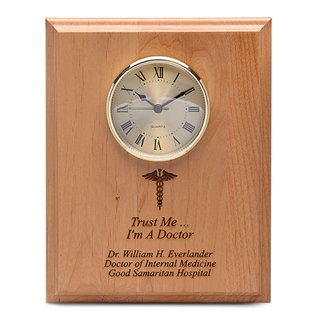Medical Theme Recognition Wall Plaque