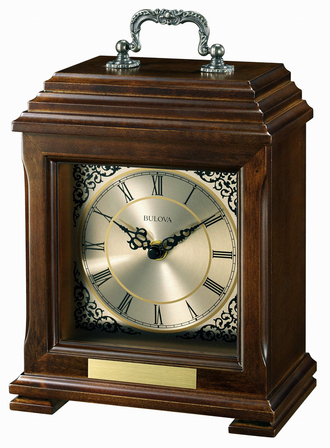 Document Carriage Clock by Bulova